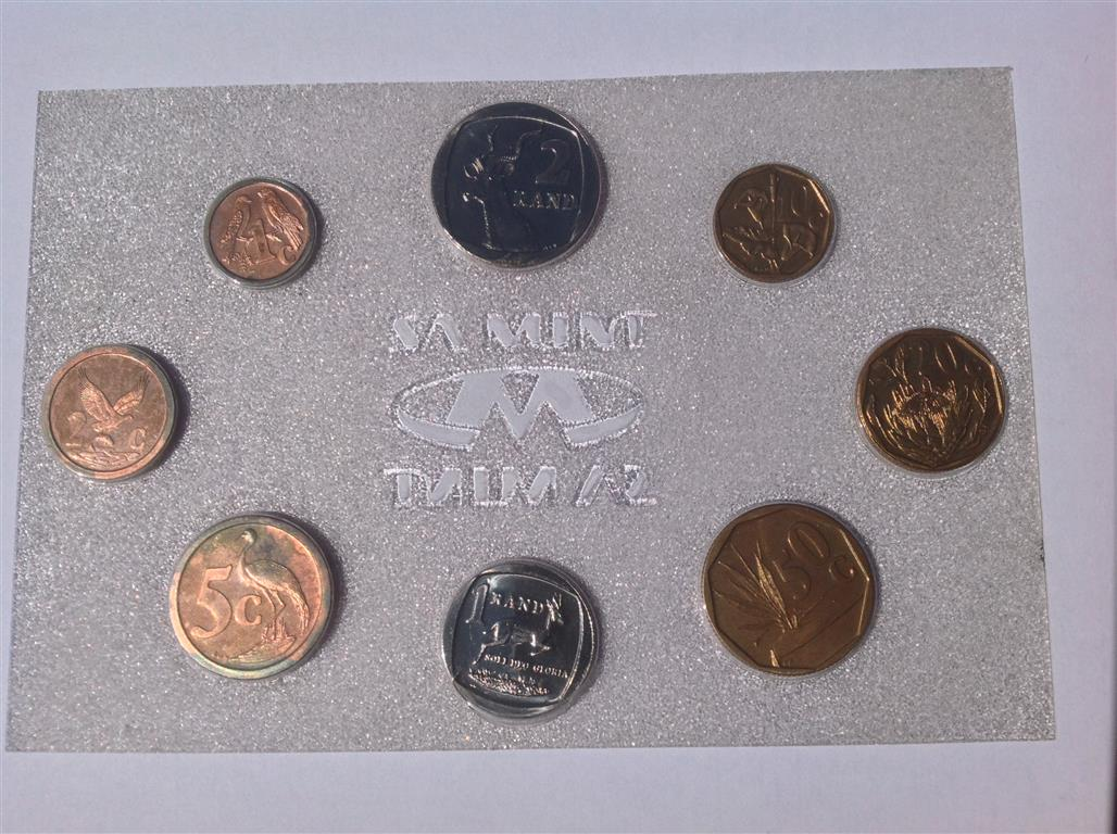 SA Coins 1992 Mint Proof Set R100