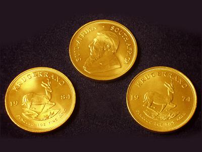 ZAR Gold Coins